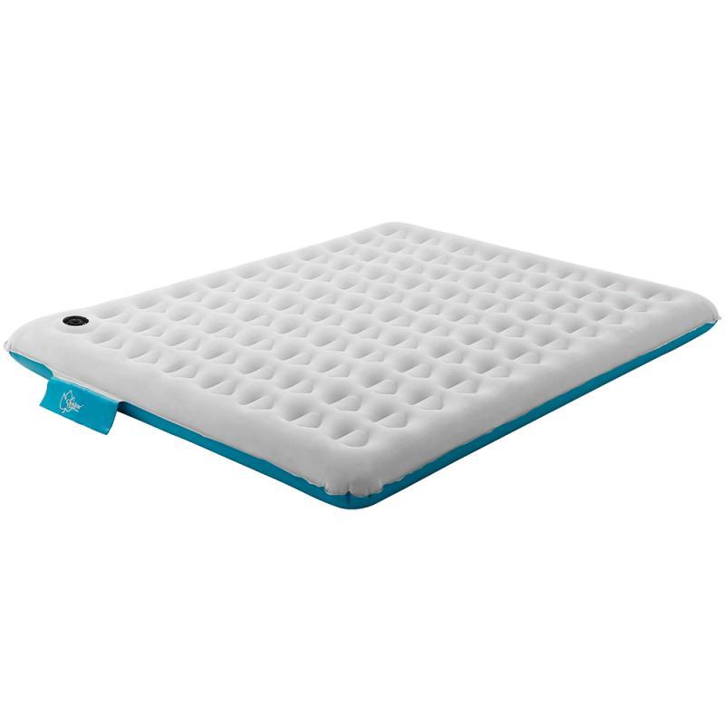 日野戶外~【Outdoorbase】歡樂時光充氣床M號雙色限量款-(月石灰/蒂芬妮藍)-24172 旅行 床墊 充氣床 內建PUMP充氣 睡墊 露營 氣墊床