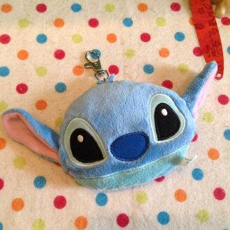 =優生活=【現貨出清】日本迪士尼星際寶貝 史迪奇頭型自動伸縮卡套 悠遊卡套 吊飾 娃娃
