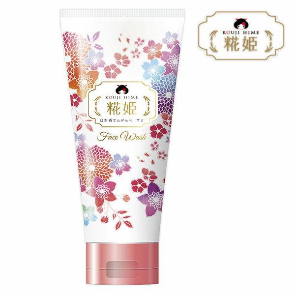 《日本製》米花姬 深層清潔泥櫻花洗顏乳 100g 0