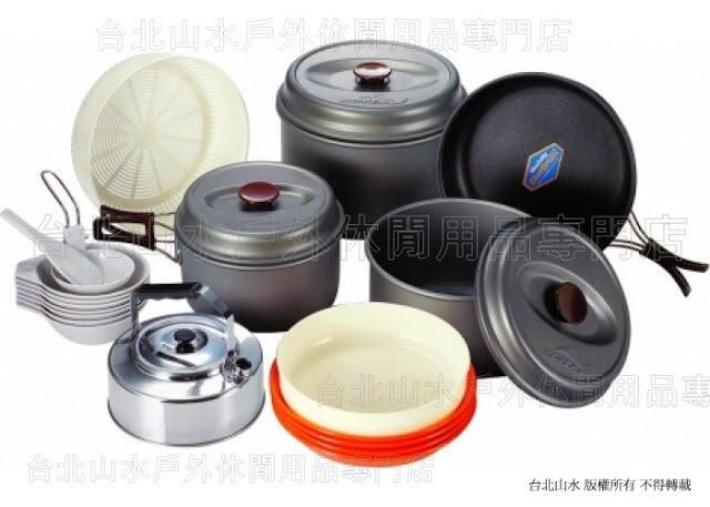 [ Kovea ] Hard 78 大家庭7-8人黑鋁套鍋組/登山鍋具組/套鍋KSK-WH78