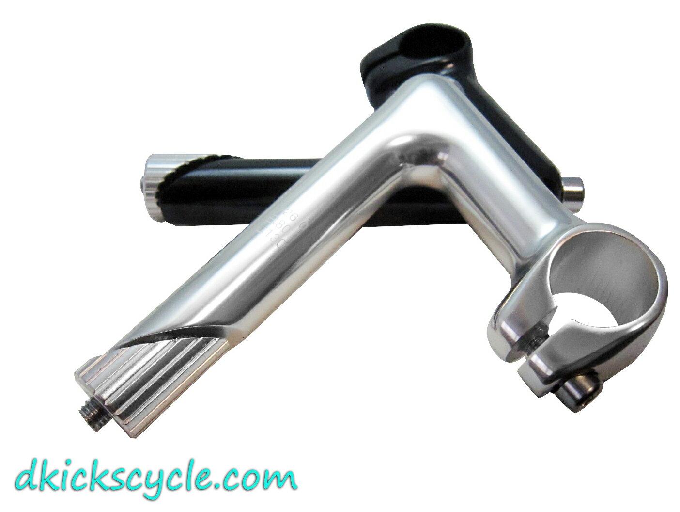 Dkicks cycle 自行車復古龍頭 26mm 少見規格 stem Fixed gear 單速車 城市車 小折