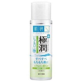 ROHTO樂敦 肌研 極潤 玻尿酸超保濕化妝水 清爽型 170ML/瓶◆德瑞健康家◆