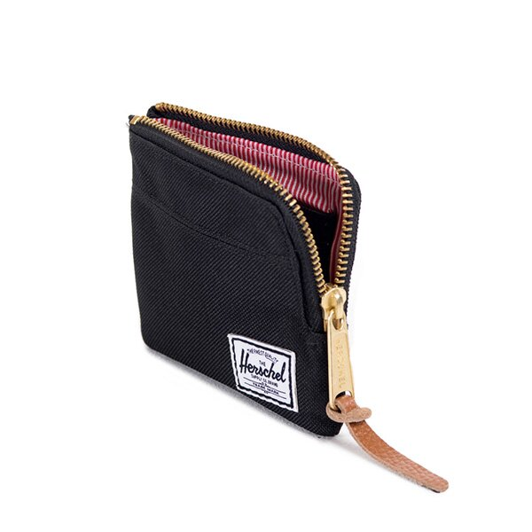 【EST】HERSCHEL JOHNNY WALLET 小皮夾 零錢包 黑 [HS-0094-001] F0421 1