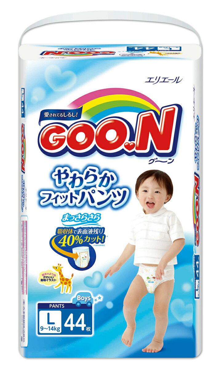 日本大王 褲型 男褲 紙尿褲 尿布 L44 片/包 1箱3包