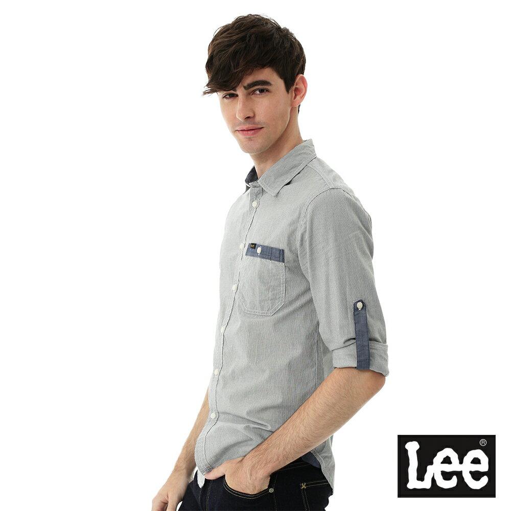 Lee 條紋長袖襯衫 3