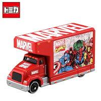 漫威英雄Marvel 周邊商品推薦【日本進口】TOMICA T.U.N.E. 漫威英雄 宣傳卡車 EVO.0.0 多美小汽車 玩具車 TAKARA TOMY - 896487