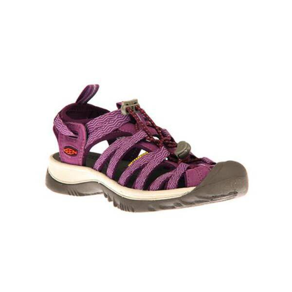 《台南悠活運動家》KEEN1018229女運動涼鞋紫灰