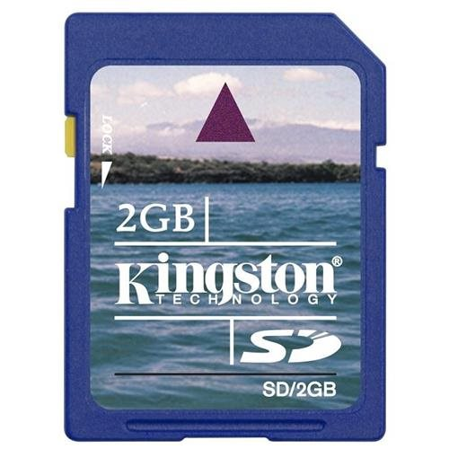Kingston 2GB SD 2.0GB SD V1.1 Secure Digital Flash Memory Card for GPS non-SDHC 0