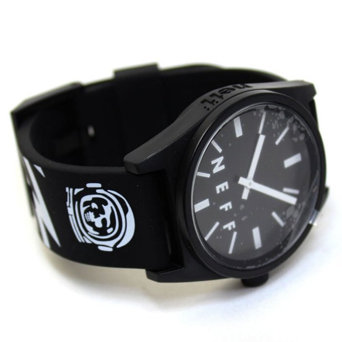 BEETLE NEFF DAILY WILD WATCH 特別款 太空人 骷髏 閃電 黑白 指針錶 手錶 圓錶 防潑水 1