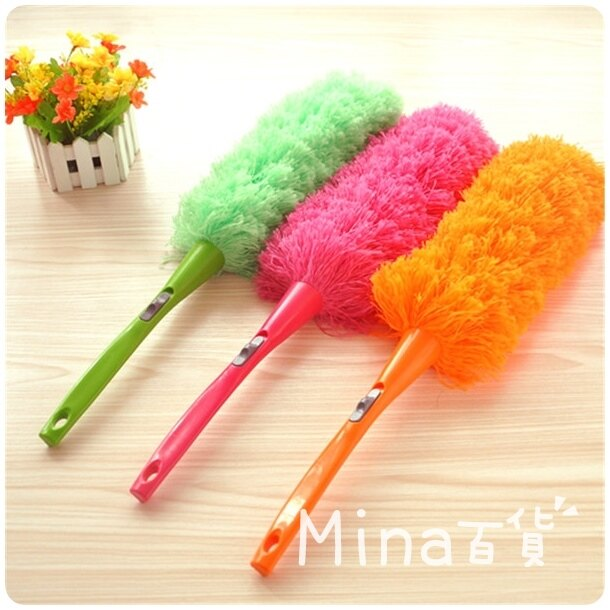 (mina百貨) 超細纖維可彎曲除塵撢 清潔除塵撢 家用清潔 打掃用具 F0167