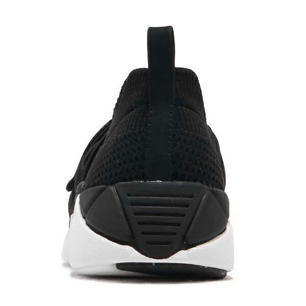 Shoestw【68849BLK】SKECHERS 健走鞋 MARK NASON 記憶鞋墊 休閒鞋 襪套 緞帶蝴蝶結 黑色 女生尺寸 3