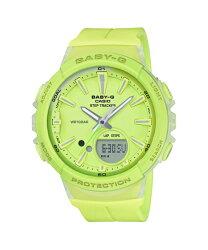 CASIO卡西歐 Baby G Step Tracker系列 熱愛運動 步行計算 電子錶 綠色  女錶 BGS-100-9ADR 40mm