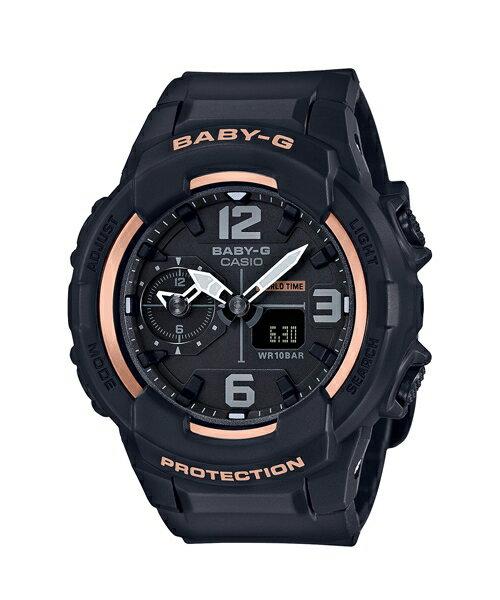 CASIO BABY-G BGA-230GGA-1B少女時代簽名雙顯流行腕錶/白色42.9mm