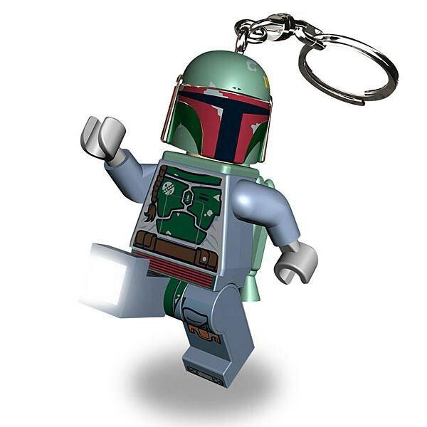 《 樂高積木 LEGO 》星際大戰 STAR WARS LED 燈鑰匙圈 - 波巴費特 (賞金獵人)