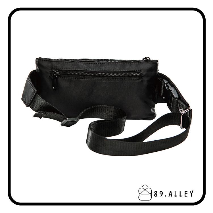 腰包 單肩包 女包男包 黑色系防水包 輕量尼龍多層情侶防搶包 89.Alley ☀1色 HB89141 2