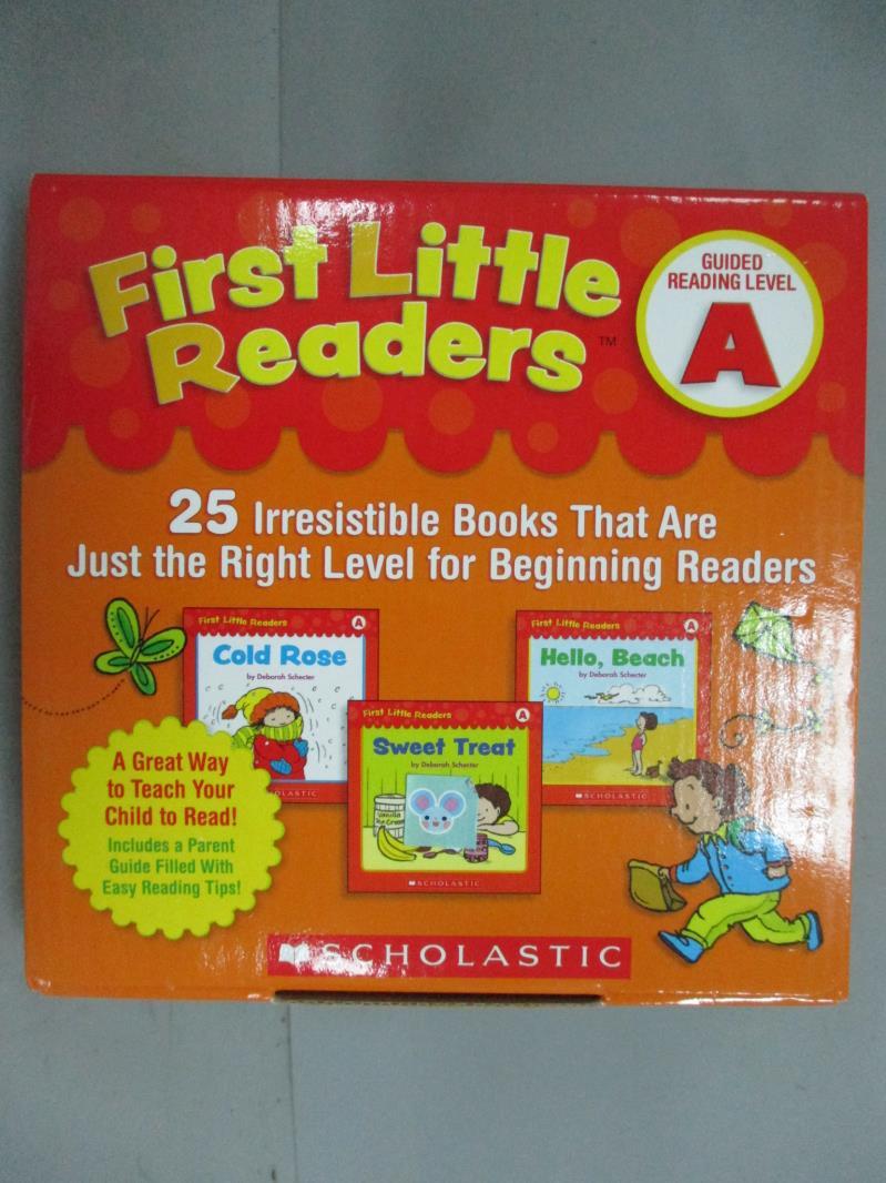 ~書寶 書T1/兒童文學_GDC~First Little Readers Guided