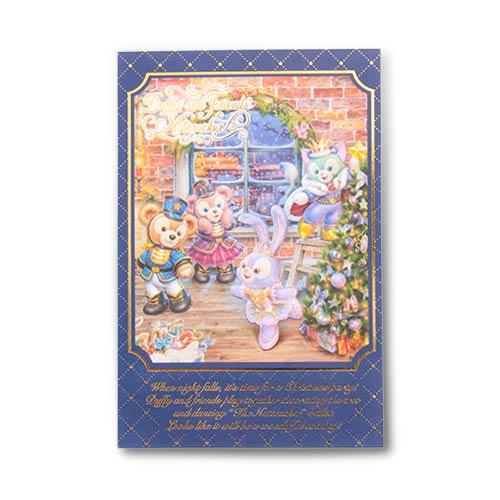 ~真愛 ~17111800038立體燙金明信片~胡桃鉗聖誕CAI 卡片 收藏 Duffy