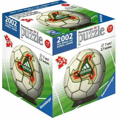 《德國Ravensburger維寶》維寶拼圖-2002世界盃指定球3D拼圖(54P)