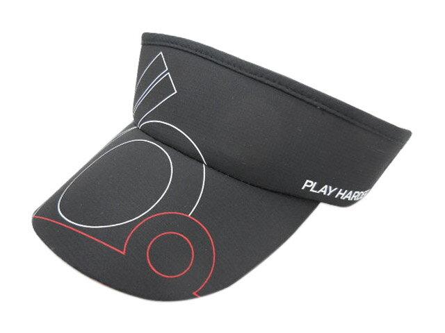 HEADSWEATS 汗淂 110% 遮陽帽 (黑帽/白線條)