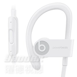 【曜德★送T恤+A5水壺】Beats Powerbeats 3 Wireless 白 無線藍芽 運動型耳掛式耳機 防汗★ 免運 ★