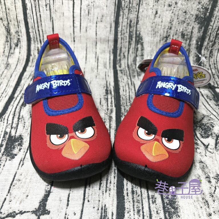 憤怒鳥ANGRY BIRDS 怒鳥紅童款運動休閒鞋 [66902] 紅 MIT台灣製造【巷子屋】