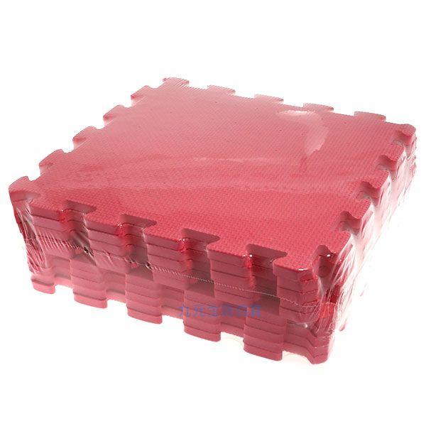 【九元生活百貨】桃紅色彩墊/10入 拼裝地墊 EVA 鋪地 拼板 巧拼