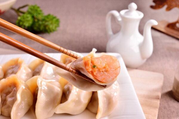韓式辣味泡菜蝦仁豬肉水餃30粒裝