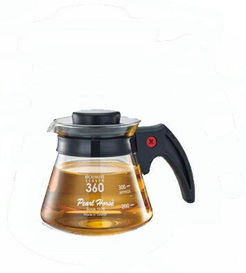[微聲咖啡] Pearl Horse 寶馬牌 塑膠柄耐熱壺 360cc TA-G-07-360