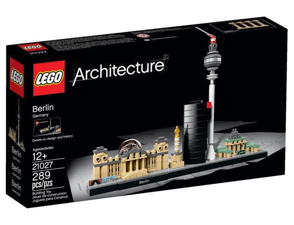 【LEGO 樂高積木】建築系列 - 柏林 Berlin LT-21027