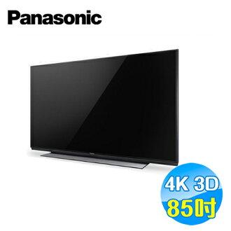 國際 Panasonic 85吋 4K 3D 超高畫質LED液晶電視 TH-85X940W
