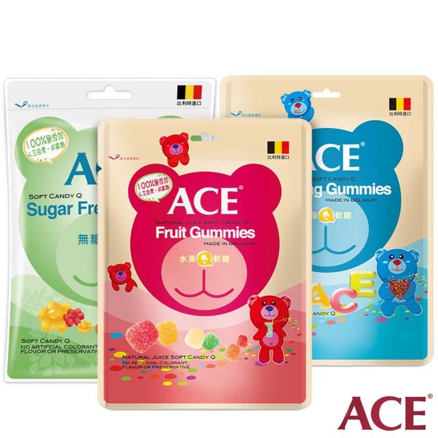 ACE系列Q軟糖48公克/袋 4種口味【六甲媽咪】