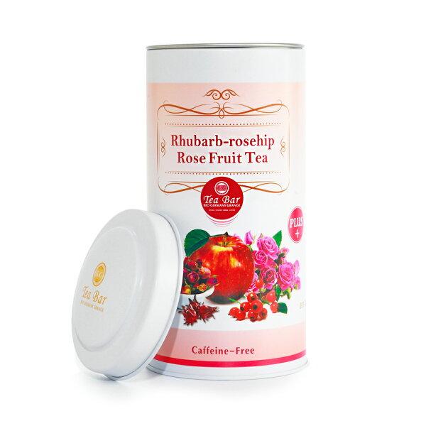 德國農莊TeaBar:【德國農莊B&GTeaBar】玫瑰亮麗輕盈水果茶加強版