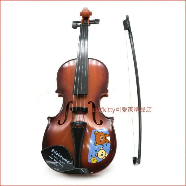 asdfkitty可愛家☆日本san-x拉拉熊小提琴玩具-藍色-日本正版商品