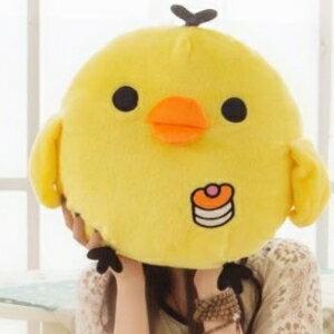 美麗大街【105122125】卡通小雞公仔黃色小雞可愛抱枕毛絨玩具玩偶抱枕(30公分)
