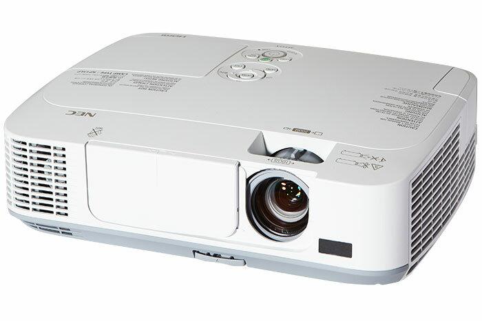 ★杰米家電☆NEC M311X送NP02lM1(無線模組)  LCD XGA 3100 lm