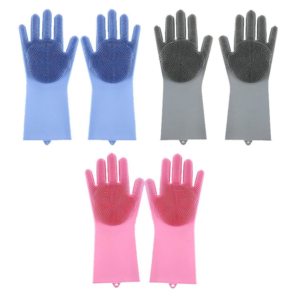 家事達人 萬用隔熱魔法清潔手套刷 手套刷-多款可選 1