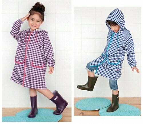 【本月贈鞋墊】日本【Stample】兒童雨鞋(陽光橘) 4