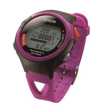 (陽光樂活) - EPSON 運動腕錶 粉紅 特價 4600   EPSON 301P  贈送 400 元  GO DRY