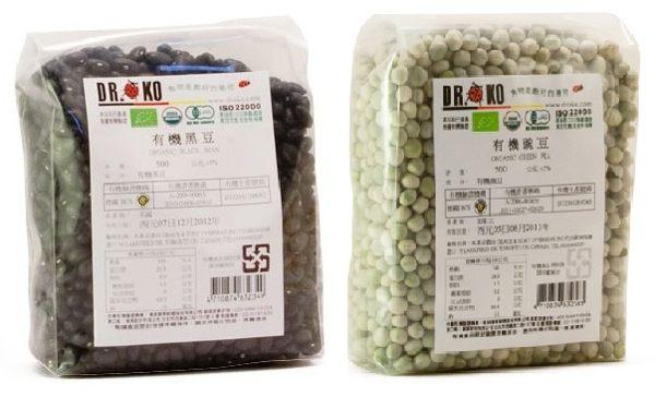 DR.OKO德逸 有機黑豆/有機豌豆 500g
