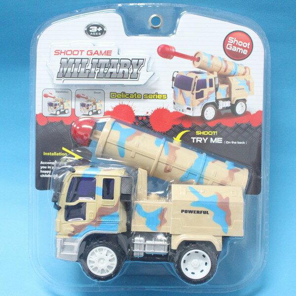 一般軍事導彈車 NO.989-5C 米色迷彩軍事導彈車玩具(明吊式)/一台入{促180}