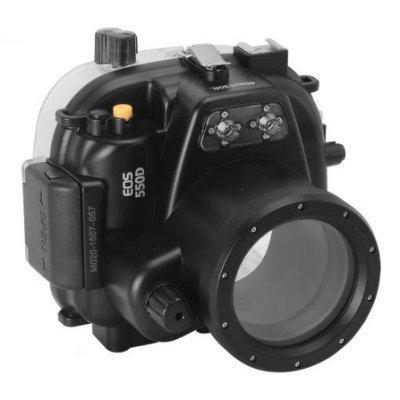 "Canon EOS 550D (18-55mm) 潛水殼-黑""正經800"""