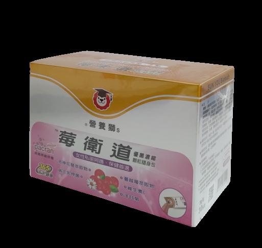 【憨吉小舖】營養獅 莓衛道優菌顆粒 顆粒濃縮包3GX30包/盒 蔓越莓、乳酸菌、洛神花