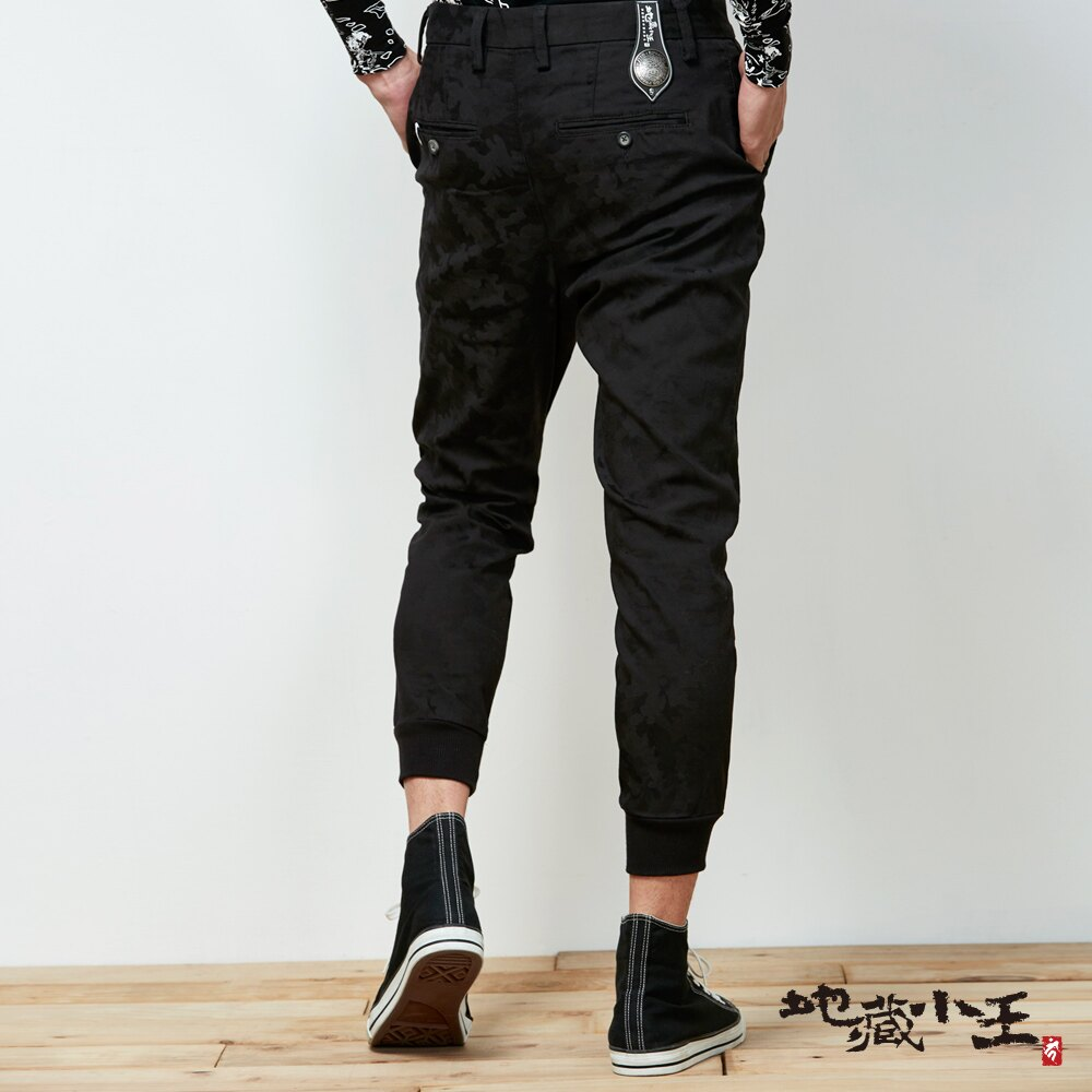 【春夏新品】擅變我型系列-變色龍透濕透氣西裝運動褲(黑)  - BLUE WAY  JIZO 地藏小王 3