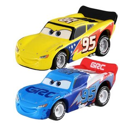 【奇買親子購物網】【TOMICA】CARS閃電麥坤(藍色特殊款路霸)