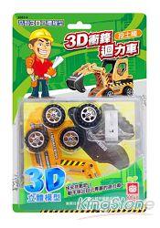 3D衝鋒迴力車《挖土機》