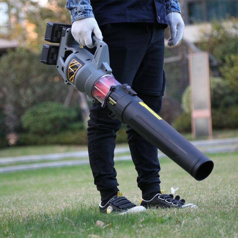 鋰電鼓風機  吹風機 手提大功率鋰電40V 電動樹葉大風力充電除塵 清掃馬路鼓風機 除塵器 愛尚優品