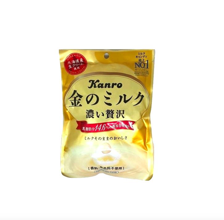 Kanro 金色北海道特濃牛奶糖 80g - 限時優惠好康折扣