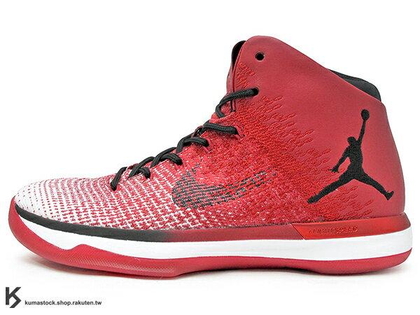 2016 雷霆隊 Russell Westbrook 代言 新生代飛人 限量發售 史上最強 NIKE AIR JORDAN XXX1 31 CHICAGO 白紅黑 芝加哥 飛人 FLYWEAVE 鞋面 FLIGHTSPEED + 全腳掌 ZOOM 避震科技傳導 籃球鞋 (845037-600) !