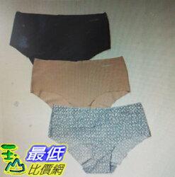 [COSCO代購 如果售完謹致歉意] Calvin Klein 女彈性無痕內褲三入組 _W1062775