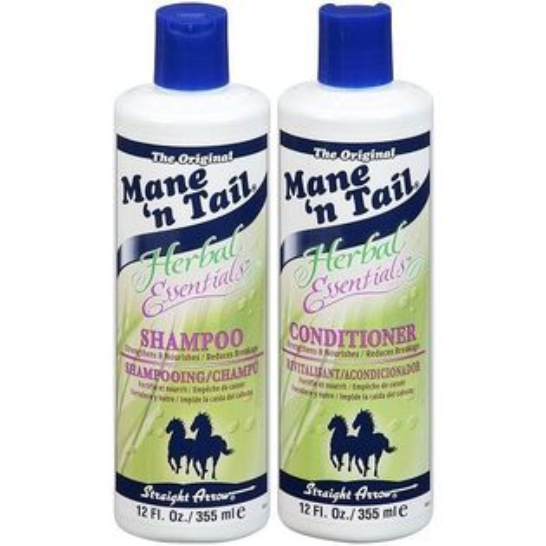 美國Mane'ntail箭牌馬用草本洗髮精潤絲精355ml12oz瓶◆德瑞健康家◆
